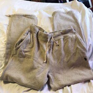 Light Grey Ralph Laura Polo sweat pants Size Small